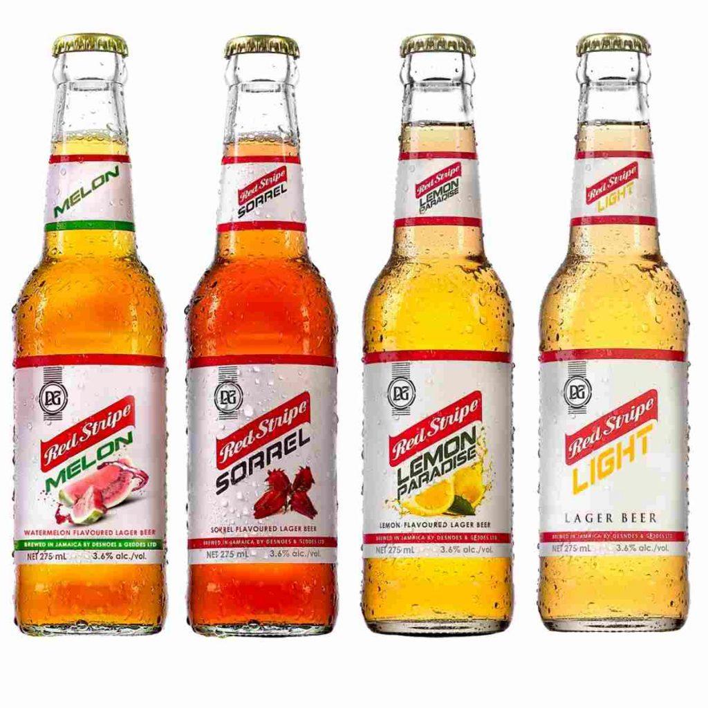 Red Stripe Sorrel Flavoured Beer